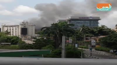 Fire in Lagos Central Prison, Nigeria, October 22, 2020