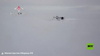 For the first time 3 Russian submarines leave the North Pole, March 2021