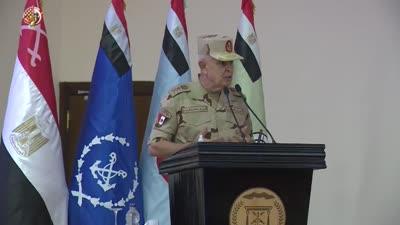 الفريق محمد فريد يتفقد المنطقة العسكرية الجنوبية، 31 يوليو 2021