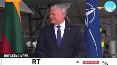 طائرات نفاثة روسية توقف مؤتمر لرئيس الوزراء الإسباني بيردو سانشيز في قاعدة الناتو بلتوانيا، 8 يوليو 2021