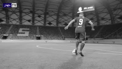 فيديو أذاعه تلفزيون نادي النصر الإماراتي لمهارات اللاعب ضياء سبع، سبتمبر 2020