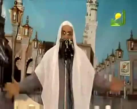 الشيخ محمد حسان يمتدح مبارك