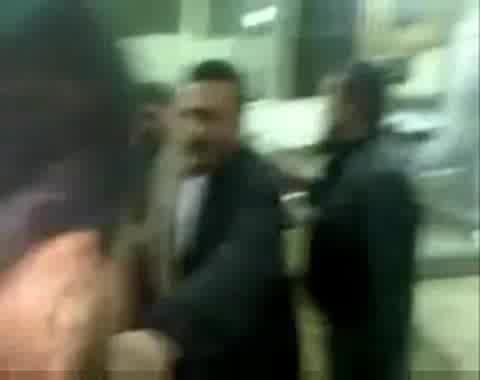 جثث ضحايا أسلحة كيماوية في 28 يناير 2011 بالقصر العيني، القاهرة